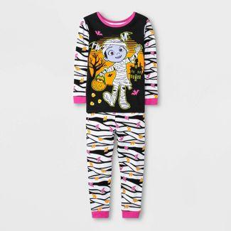 Toddler Girls' 2pc Vampirina Pajama Set - Black 5T