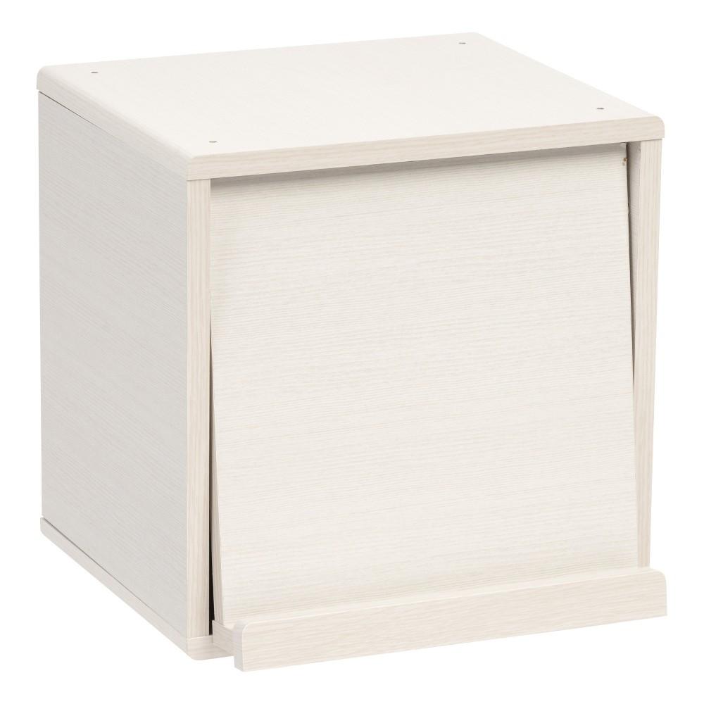 Image of Cube Storage Box Iris White