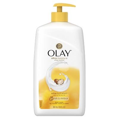 Olay Ultra Moisture With Shea Butter Body Wash Pump - 30 fl oz