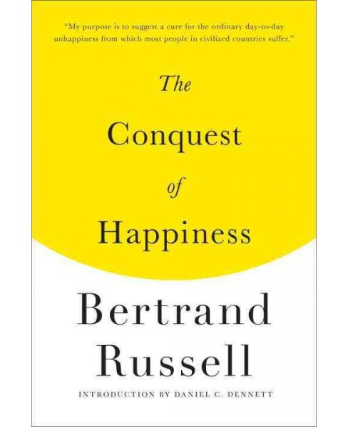 Conquest of Happiness -  by Bertrand Russell (Paperback) - image 1 of 1
