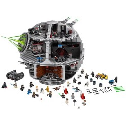 LEGO Star Wars Death Star 75159 Space Station Building Kit with Star Wars Minifigures for Kids and Adults, Adult Unisex