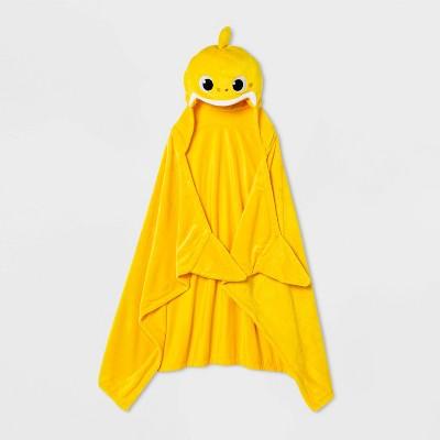 Baby Shark Hooded Blanket