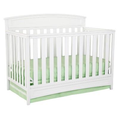 Delta Children® Sutton 4-in-1 Convertible Crib - White
