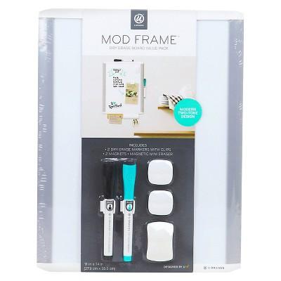 Ubrands MOD Framed Magnetic Dry Erase Value Pack - 11  x 16