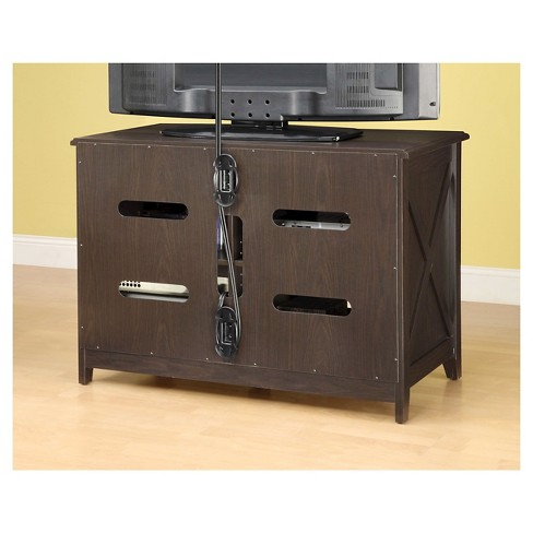 Clinton Simulated Wood High Console Espresso 44 Whalen Target
