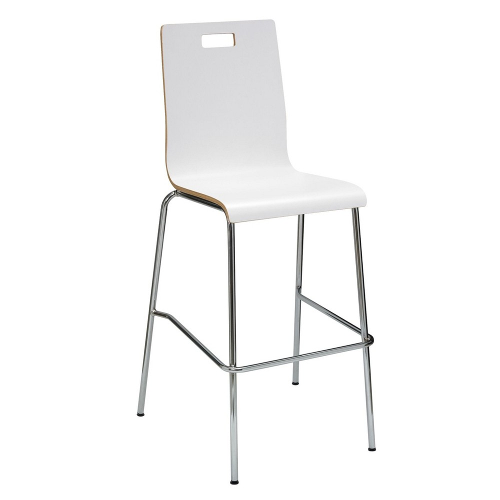 Image of Jive Laminate Barstool White - KFI Seating