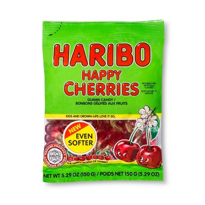 Gummy Candies: Haribo Happy Cherries