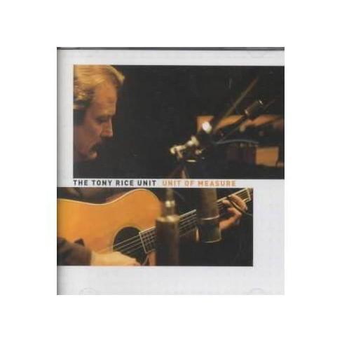 Tony Rice - Unit of Measure (CD) - image 1 of 1