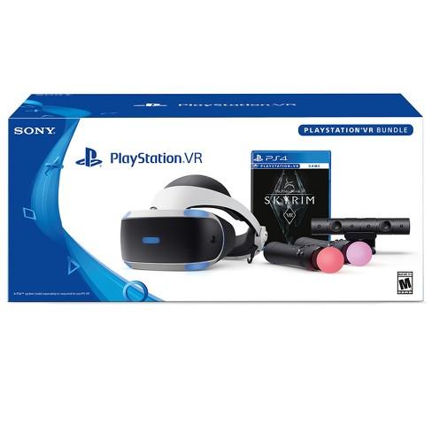Sony PlayStation VR Bundle with The Elder Scrolls V: Skyrim - image 1 of 7