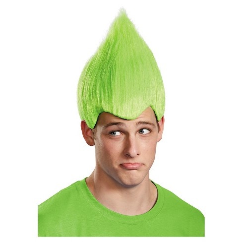 Wacky Adult Costume Wig Green - image 1 of 1