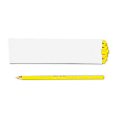 Prismacolor Premier Colored Pencil Canary Yellow Lead/Barrel Dozen 3346