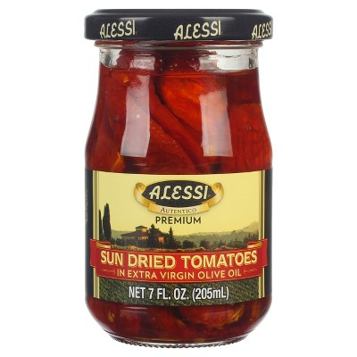 Alessi Sun Dried Tomatoes in Olive Oil - 7oz