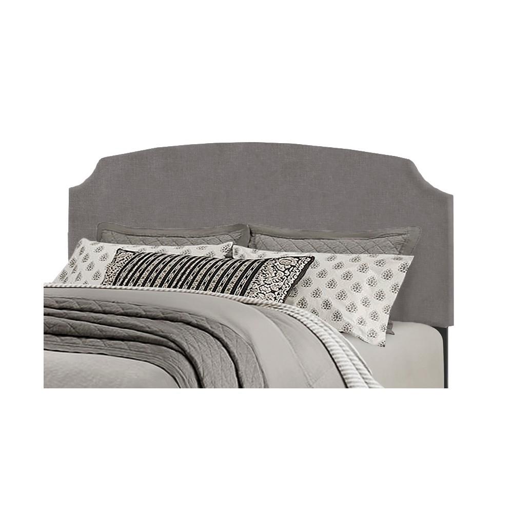 King Desi Headboard Metal Headboard Frame Included Stone (Grey) - Hillsdale Furniture