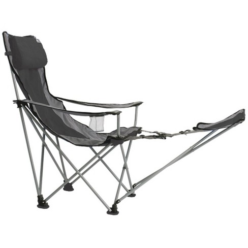 Travel Chair with Carrying Case with Footrest - Gray/Black - image 1 of 1
