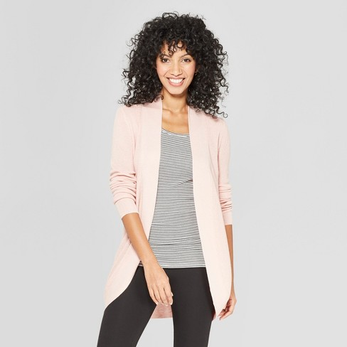 d7edce2d14 Women s Cocoon Cardigan - A New Day™ Light Pink XS   Target