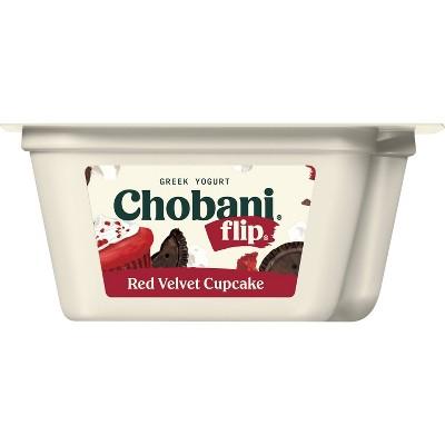 Chobani Flip Red Velvet Greek Yogurt - 5.3oz