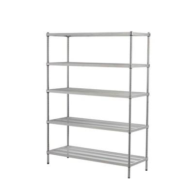 """Design Ideas Meshworks Steel Storage Shelving Unit – 5-Tier Unit 47.2"""" x 17.7"""" x 63"""""""