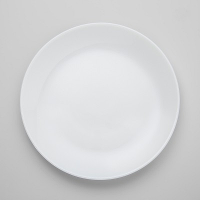 Glass Salad Plate 7.4  White - Made By Design™