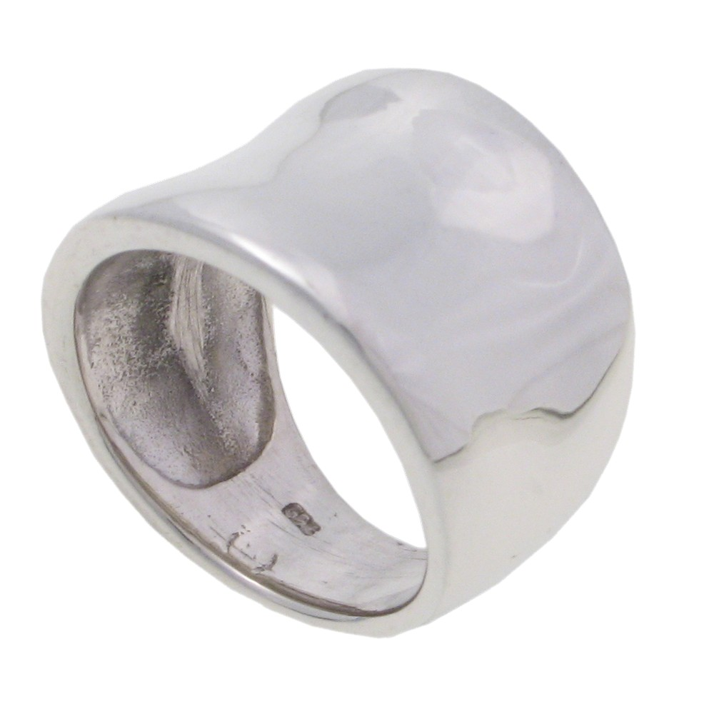 Silver Tapered Ring - 5.0