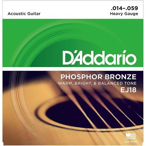 D'Addario EJ18 PB Heavy Acoustic Guitar Strings Set - image 1 of 4