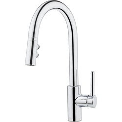 Pfister LG529-SA Stellen Pull-Down Spray High Arc Kitchen Faucet