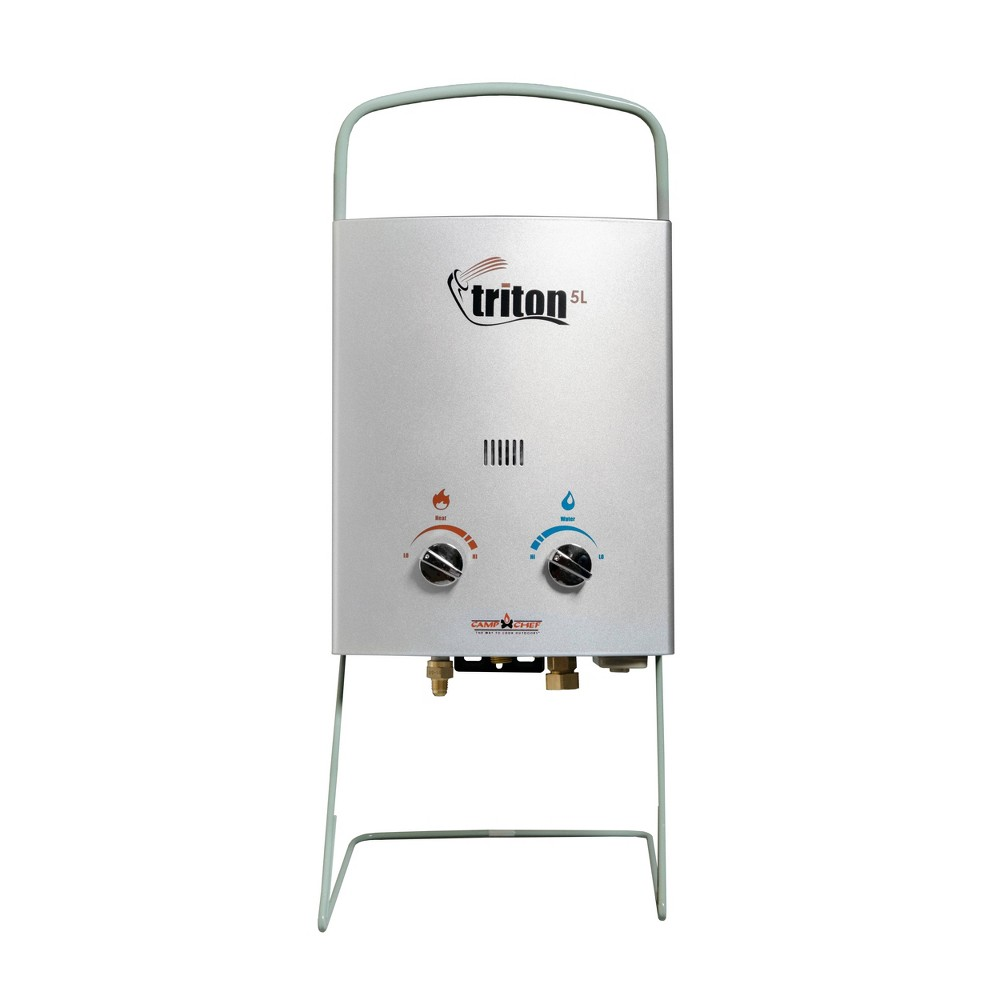 Image of Camp Chef Triton Hot Water System - Aluminum, Silver