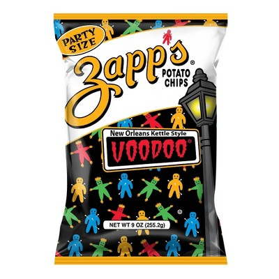 Zapp's New Orleans Kettle Style Voodoo Potato Chips - 9oz
