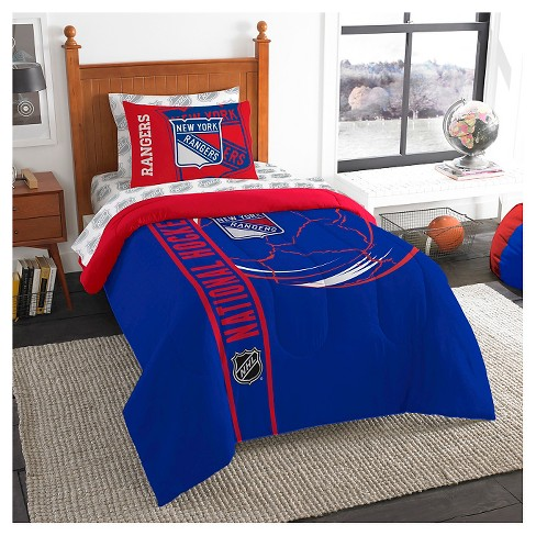 New York Rangers Northwest Twin Bed in a Bag - image 1 of 1