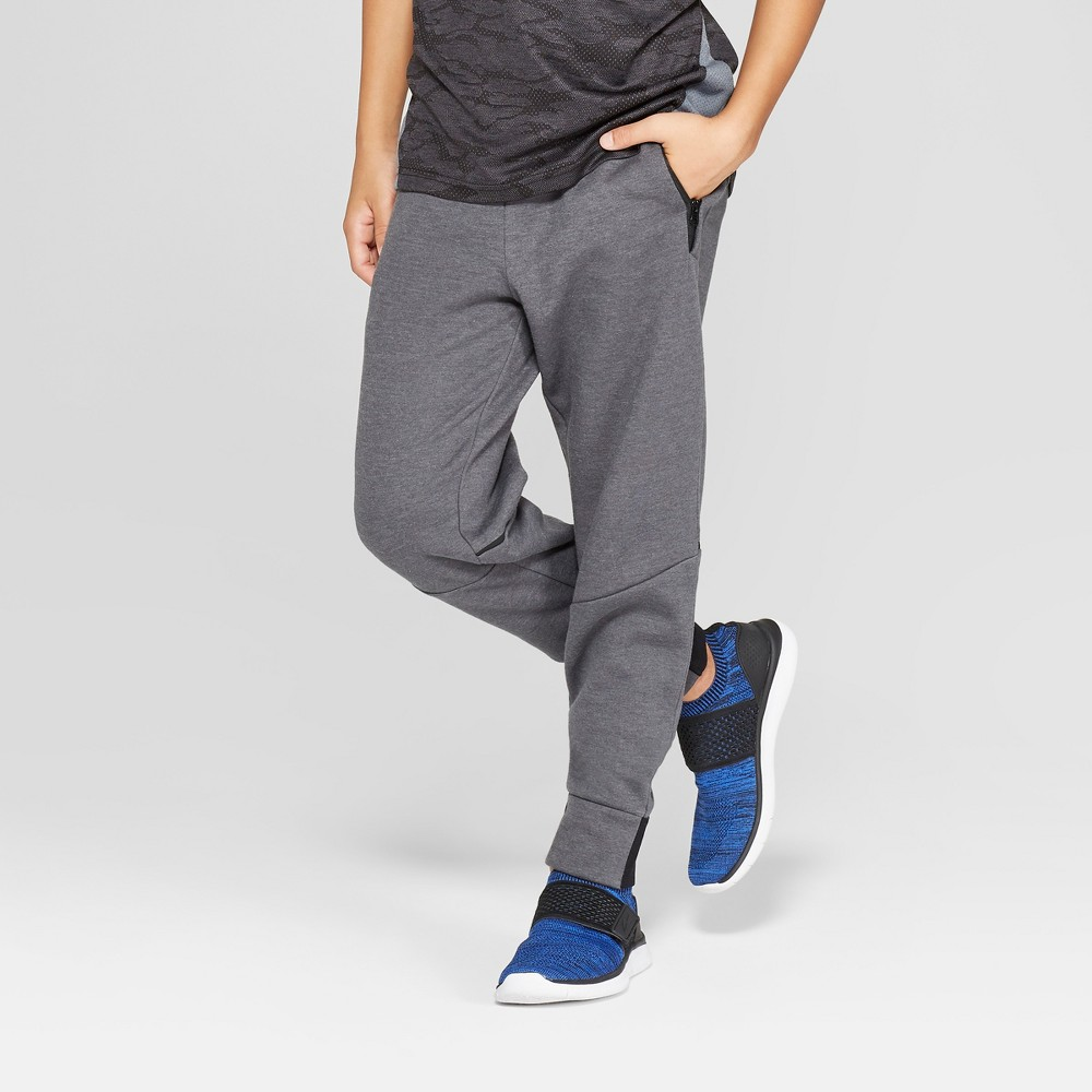 Boys' Victory Fleece Jogger Pants - C9 Champion Charcoal Grey L