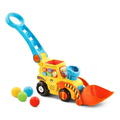 VTech Pop-a-Balls Push and Pop Bulldozer