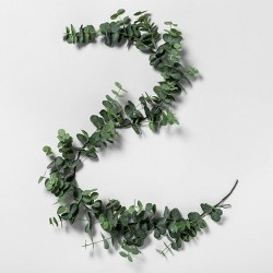 "72"" Faux Eucalyptus Garland - Hearth & Hand™ with Magnolia"