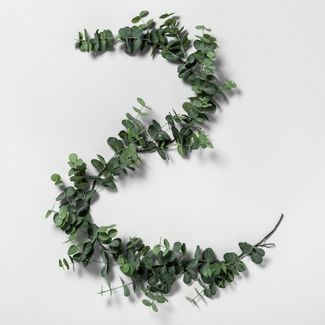 6' Faux Eucalyptus Garland - Hearth & Hand™ with Magnolia