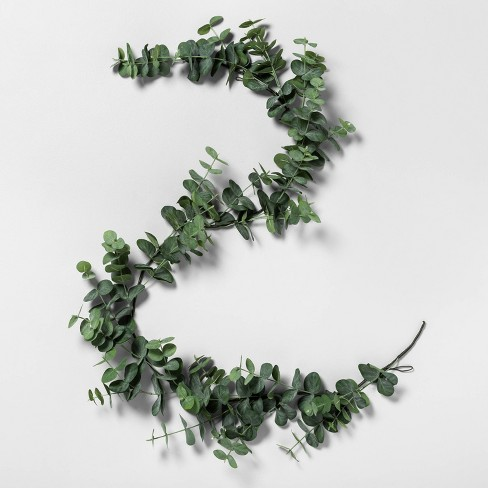 6' Faux Eucalyptus Garland - Hearth & Hand™ with Magnolia - image 1 of 2
