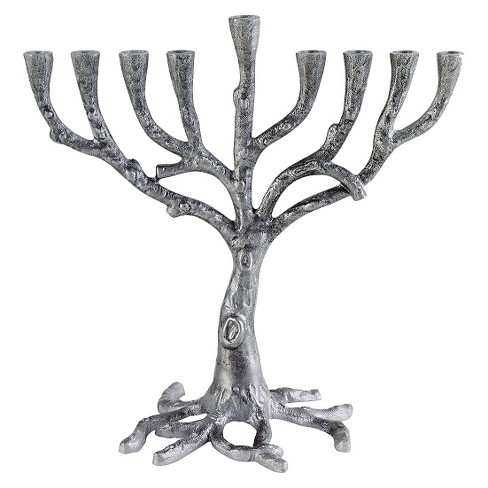 Hanukkah Art Deco Tree Menorah - image 1 of 1
