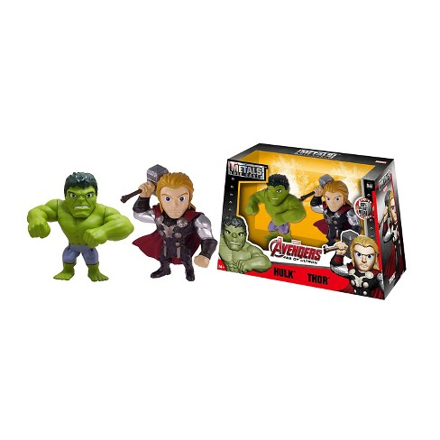 """Metals - 4"""" figures - Hulk and Thor - M66 - image 1 of 4"""