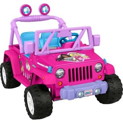 Power Wheels 12V Barbie Jeep Powered Ride-On