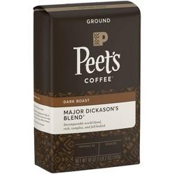 Peet's Major Dickason Dark Roast Ground Coffee - 18oz