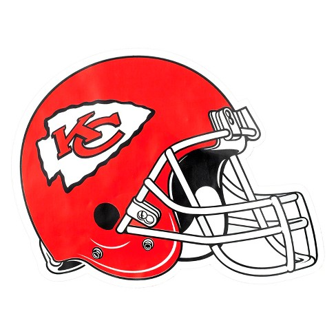 NFL Kansas City Chiefs Large Outdoor Helmet Decal - image 1 of 1