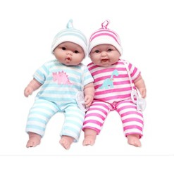 """""""JC Toys Lots to Cuddle Babies 13"""""""" Twin Dolls"""""""