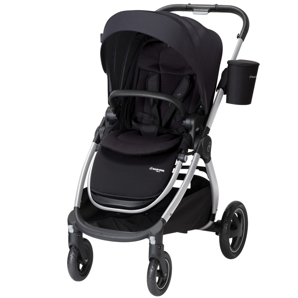 Image of Maxi-Cosi Adorra Modular Stroller, Night Black, Black Black