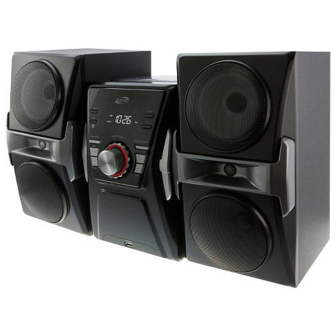 iLive Bluetooth CD Home Music System with FM Tuner & LED Lights - image 1 of 4