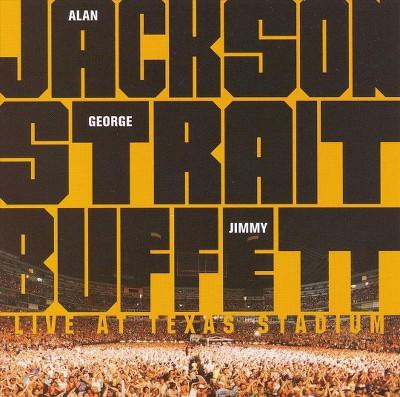 Alan Jackson/George Strait/Jimmy Buffett - Live at Texas Stadium (CD)