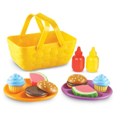 Learning Resources New Sprouts Picnic Set, 15-Piece, Ages 18mos+