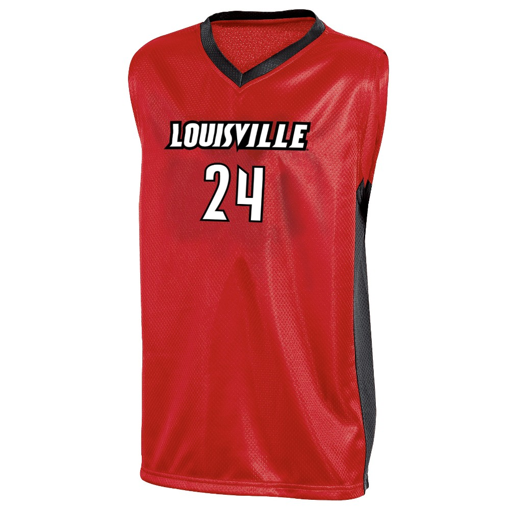 Louisville Cardinals Boys' Basketball Jersey S, Multicolored