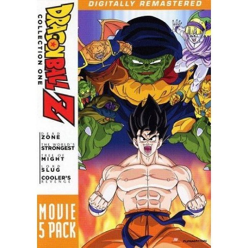 Dragon Ball Z: Movie Pack #1 Moives 1-5 (DVD) - image 1 of 1