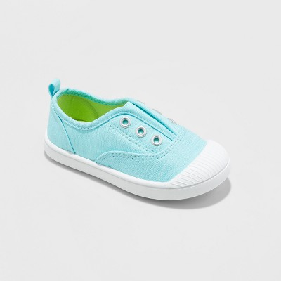 Toddler Girls' Alivia Low Top Sneakers - Cat & Jack™ Turquoise 6