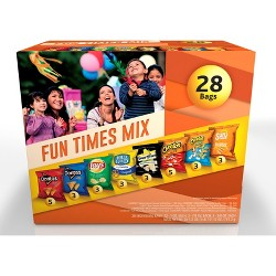 Frito-Lay Fun Times Mix Variety Pack - 28ct
