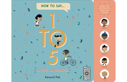 How to Count 1 to 5 in Five Languages -  New (Hardcover) - image 1 of 1