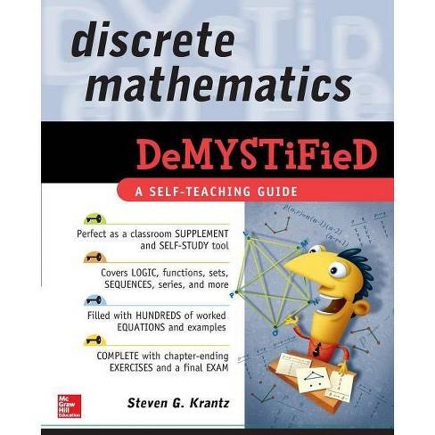 Discrete Mathematics Demystified - by  Steven G Krantz (Paperback) - image 1 of 1