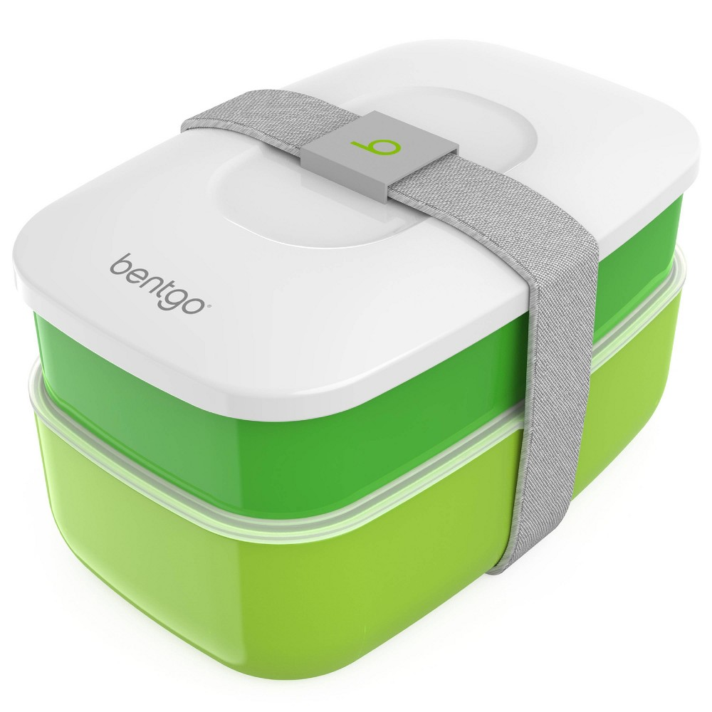 Image of Bentgo All-in-One Stackable Lunch Box - Green
